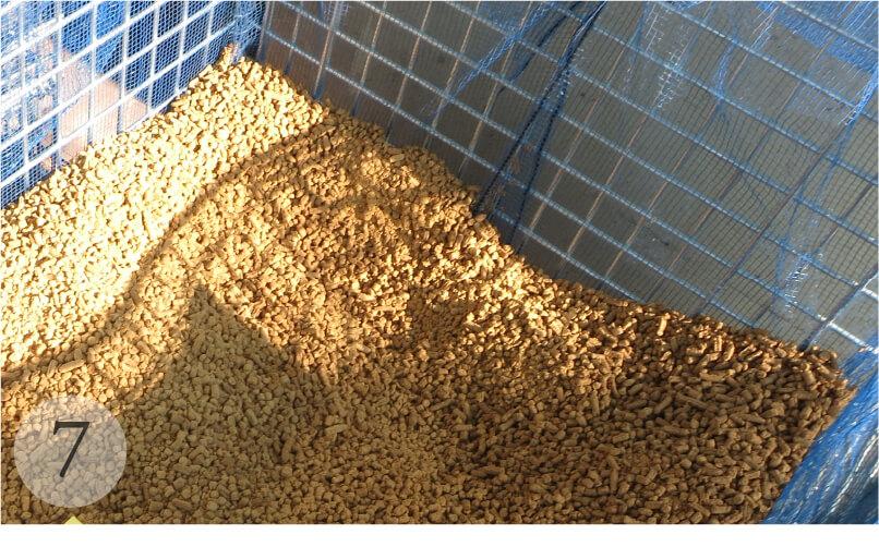 まぐろ肥料の製造工程
