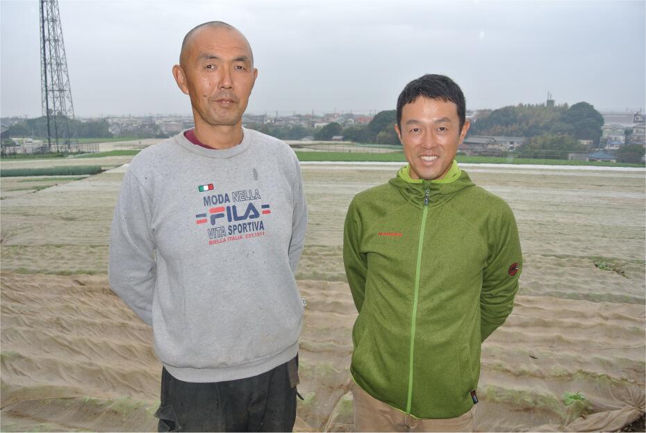 川島義徳&三崎恵水産石橋匡光さん